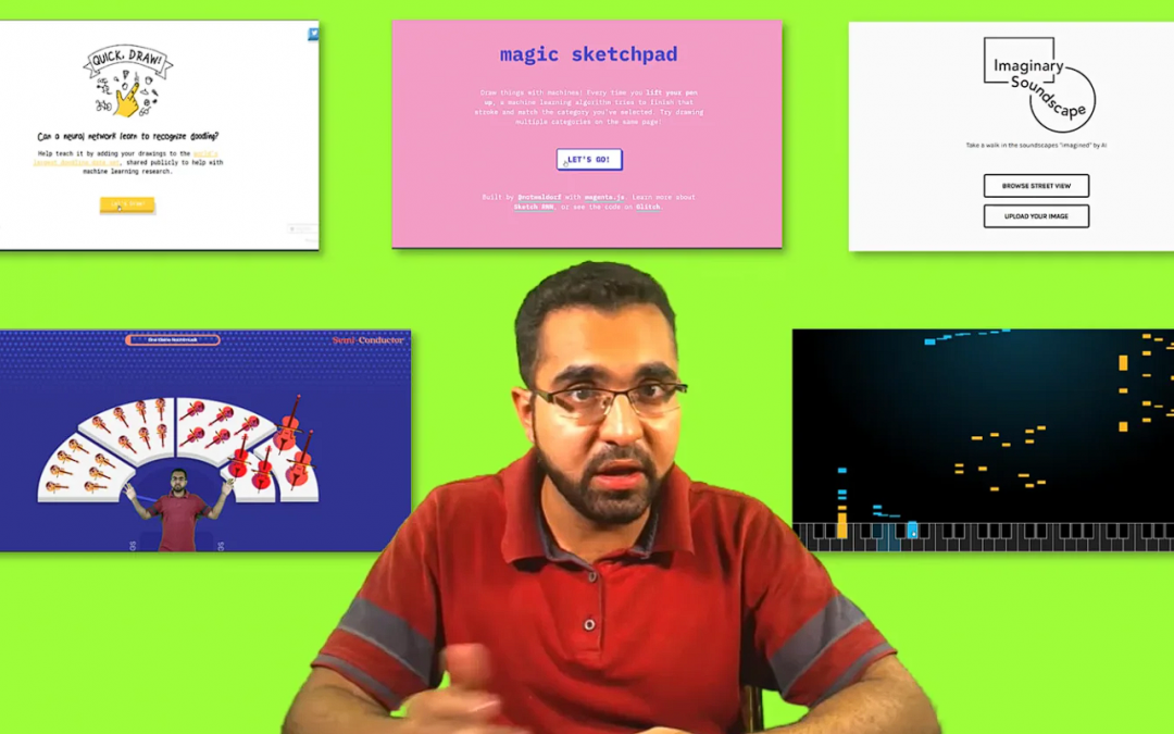 (Urdu/Hindi) Learn how  to use these 5 Google AI Experiments