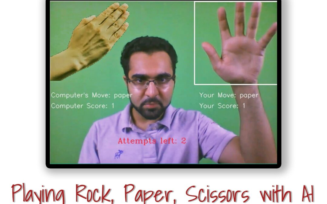 (LearnOpenCV) Playing Rock, Paper, Scissors with AI